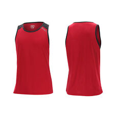 2XU Mens Tech Vent Tank Running Exercise Work out Top Race Breathable