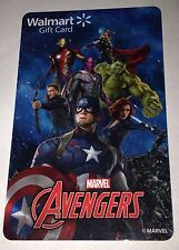 """WALMART US GIFT CARD """"THE AVENGERS"""" NEW 2015 COLLECTIBLE NO VALUE"""