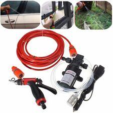 Portable 60W 12V Electric Car Washer Wash Water Pump Gun High Auto Kit Pressure