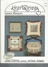 CROSS STITCH / NEEDLEPOINT - COUNTRY PLEASURES - HEARTSTRINGS - AC21