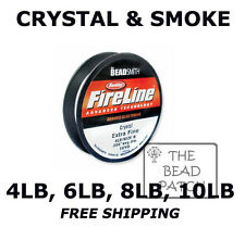 Fireline Braided Beading Thread - 2 Colors - 4 Strengths/Weights 50 YDS