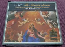 John Holloway - Biber – The Mystery Sonatas - Virgin 0777 7595512 5 - 2CD FATBOX