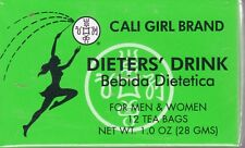 Cali Girl Brand Dieters' Drink - 3 Boxes  36 Tea Bags a Months Supply New Sealed