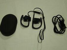 BEATS BY DR DRE POWERBEATS 3 WIRELESS EARBUDS OVER EAR HOOKS  GREY  USED