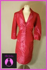 Linea Dress & Jacket Suit Wedding Outfit Mother Of The Bride Uk Size 16
