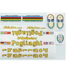 Pogliaghi decal  set complete for Campagnolo