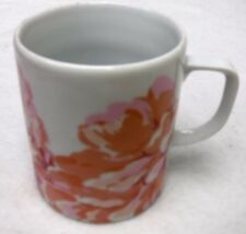 "DESHOULIERES, PHILIPPE Limoges china FLEURS Mug with Plain Handle 3-5/8"""