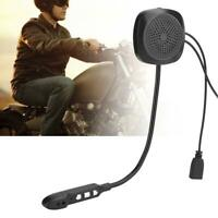 Wireless Bluetooth 5.0 Motorcycle Helmet Headset Handsfree Intercom Headphone SS