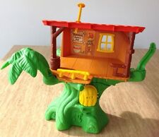 Vintage 1974 Hasbro Weebles Tarzan Jungle Tree House Play Set Romper Room Toy