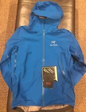 Arc'teryx Men's Beta SV Gore-Tex Pro Jacket (#18411). Medium. Rigel (Blue). NEW