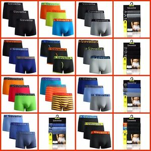 3,6,12 Pack Cavilia Hipster mens Boxer Shorts Cotton Rich Hipster Underwear SMXL