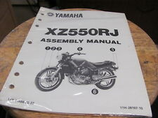 NOS Yamaha XS550RJ Assembly Manual New Wraped