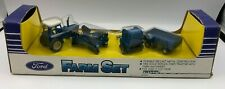 Ertl Ford Farm Set #1378 Die Cast 1/64 Scale Brand New 1986 Tractor Machinery