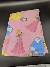 DISNEY PRINCESS Pink Sheets for Crib or Toddlers Bed Cinderella Belle Snow White
