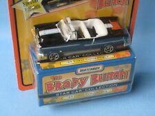 Matchbox Star Coche Brady Bunch TV Show 1955 Chevy Convertible 75mm Coche Modelo de juguete