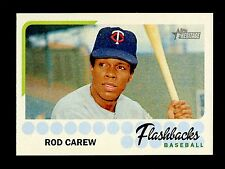 2016 Topps Heritage Baseball  Flashbacks  #BF-RCA  Rod Carew