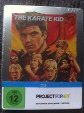 KARATE KID - Limited Steelbook - Blu Ray Region ALL - Project Pop Art