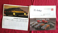 C.4141 / CITROEN catalogue gamme 1992   XM ,ZX, AX, BX.....