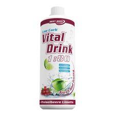 Zitrone Limette Mineraldrink Nutrition Getränkekonzentrat vital Drink 1l