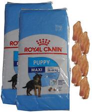 2x15kg ROYAL CANIN Maxi Puppy Junior + 6 x Kaninchenohren