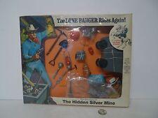 Vintage 1973 MOC Hubley The Lone Ranger Rides Again The Hidden Silver Mine Set !