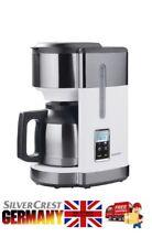 SilverCrest Macchina del Caffè, Timer di 24 ORE CON DISPLAY LC e tempo
