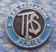 KOSZARAWA ZYWIEC POLAND FOOTBALL FUSSBALL SOCCER 1970's PIN BADGE