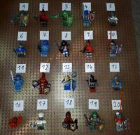 5 Lego Nexo Knights Figuren zum Aussuchen Minifig Ritter mit Zubehör X19