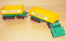 Lesney Matchbox King Size K-16 Dodge Traktor LKW Twin Tippers Fruehauf