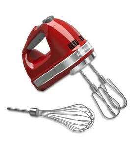 KitchenAid 7-Speed Hand Mixer | Empire Red