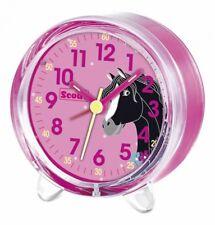 Scout Wecker 280001050 Pferd Kinderwecker Pony Pink Lernwecker Lern Uhr