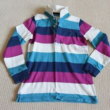 JOULES Boys Long Sleeve Rugby Shirt Multi Coloured  Age 9-10 years EXC WORN ONCE