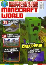 Minecraft World Issue 10 Independent and Unofficial Guide Creepers Forts Night
