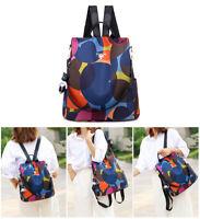 Damen Rucksack Handtasche Umhängetasche Schultertasche Anti Diebstahl Bag DE