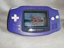 Nintendo Game Boy Advance Purple Handheld System GBA