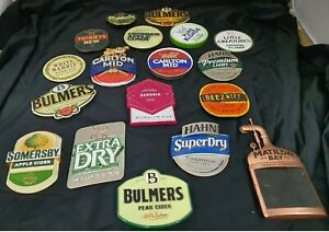 Beer Tap Badges,CUB,Bulmers,Tooheys,Carlsberg,Matilda Bay,Somersby, (FULL METAL)