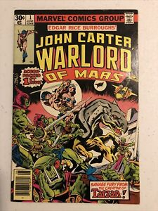 John Carter Warlord of Mars Annual #1: The Air-Pirates Of Mars / Marvel 1977