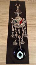 Turkish Nazar Glass Evil Eye Ottoman Arms Wall Hanging Charm & 22cm