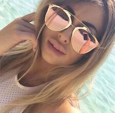 WOMENS ROSE GOLD SUNGLASSES PINK TOWIE KYLIE KIM MIAMI DESIGNER * FREE CASE   .T