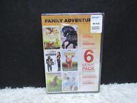 1990-2004, 6 Movie Pack Family Adventure Alliance Miramax DVD, NEW