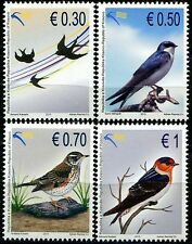 Kosovo Stamps 2010. Birds. Set MNH.