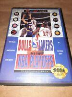 Bulls Vs. Lakers And The NBA Playoffs (Sega Genesis 1992)