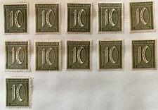 German Deutsches Reich 10 Pfennig Stamp 1921