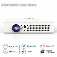 8700 Lumens 4K HD DLP Home Theater Projector 1080P Wifi 3D Cinema HDMI USB 2020