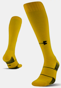 Under Armour Unisex Over the Calf Long Socks - *Green & Yellow* - [1270244]