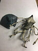Independence Day Alien Commander and Attacker Ship Toys Trend masters 1996