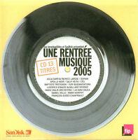 Compilation CD Les Inrockuptibles - Une Rentrée Musique 2005 - France (EX/EX+)