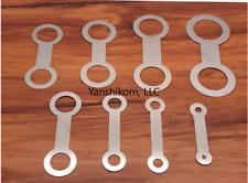 Saxophone woodwind instrument repair tools for pad iron 8 pcs