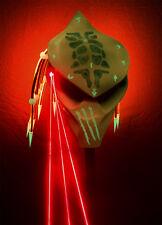 ready to go predator motorcycle helmet neon orange glow n dark