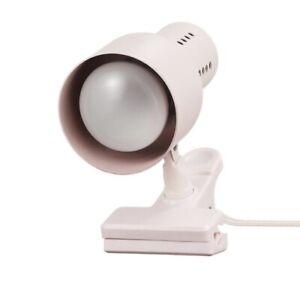 Globe Electric JoJo 5.5 in. Matte Pink Clip-Arm Desk Lamp, Bulb Included